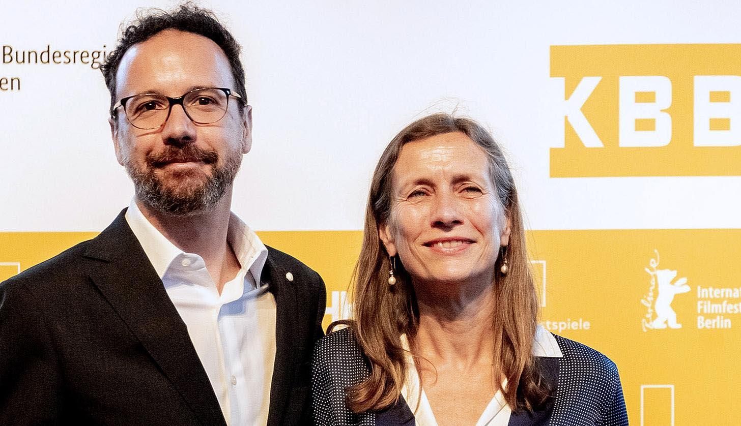 Die Zukunft der Berlinale: Carlo Chatrian und Mariette Rissenbeek