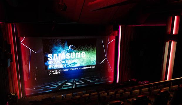 Die Konkurrenz von Samsung hat, u.a. in Esslingen, bereits vorgelegt (© Traumpalast Esslingen)
