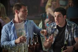 Jason Biggs, Seann William Scott (li.)