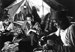 Humphrey Bogart, Walter Huston, Tim Holt