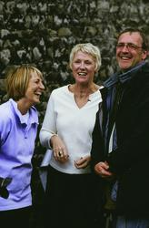 Nigel Cole, Angela Baker, Tricia Steward