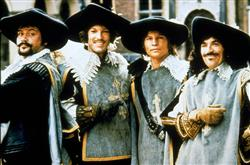 Frank Finlay, Michael York, Oliver Reed, Richard Chamberlain