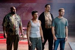 RZA, Robert Maillet, David Belle, Paul Walker