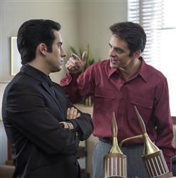 John Lloyd Young, Vincent Piazza