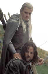 Viggo Mortensen, Orlando Bloom