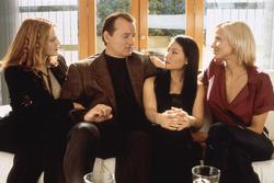 Drew Barrymore, Cameron Diaz, Lucy Liu, Bill Murray