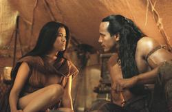 Dwayne Johnson, Kelly Hu