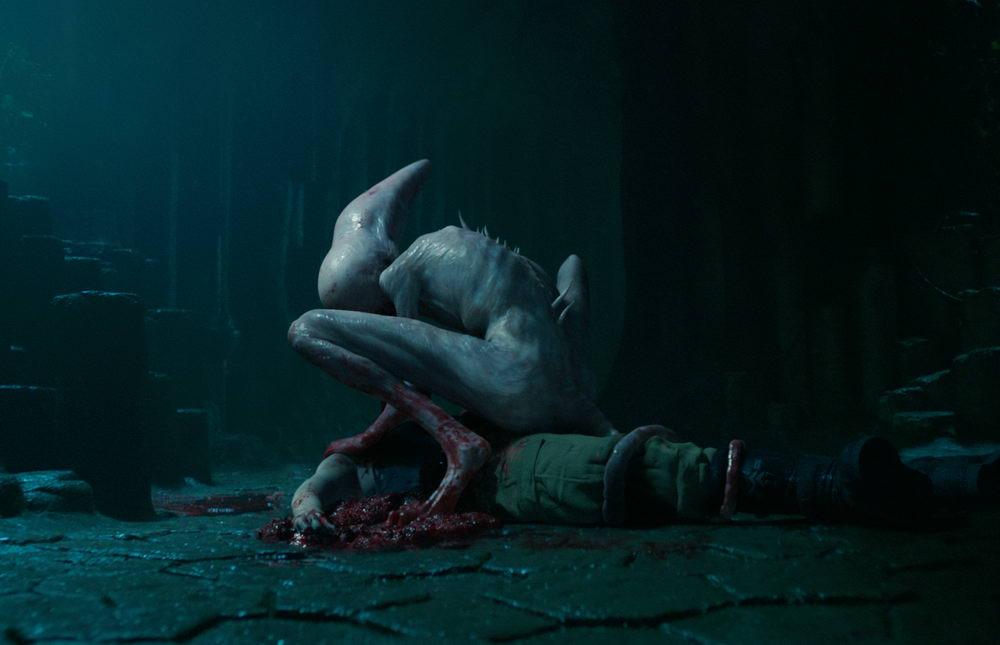 """Genre-Ikone: Das Alien, hier in einer Variante aus """"Alien: Covenant"""" (© Twentieth Century Fox)"""