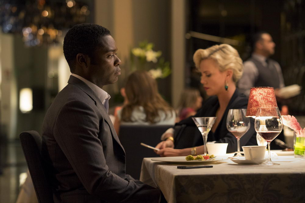 David Oyelowo, Charlize Theron