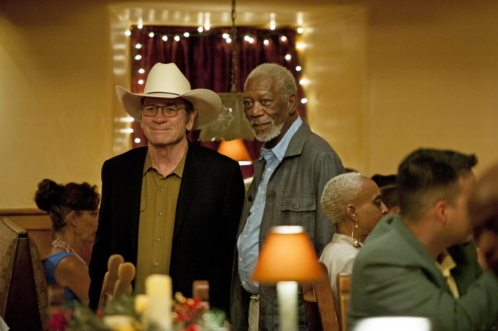 Tommy Lee Jones, Morgan Freeman