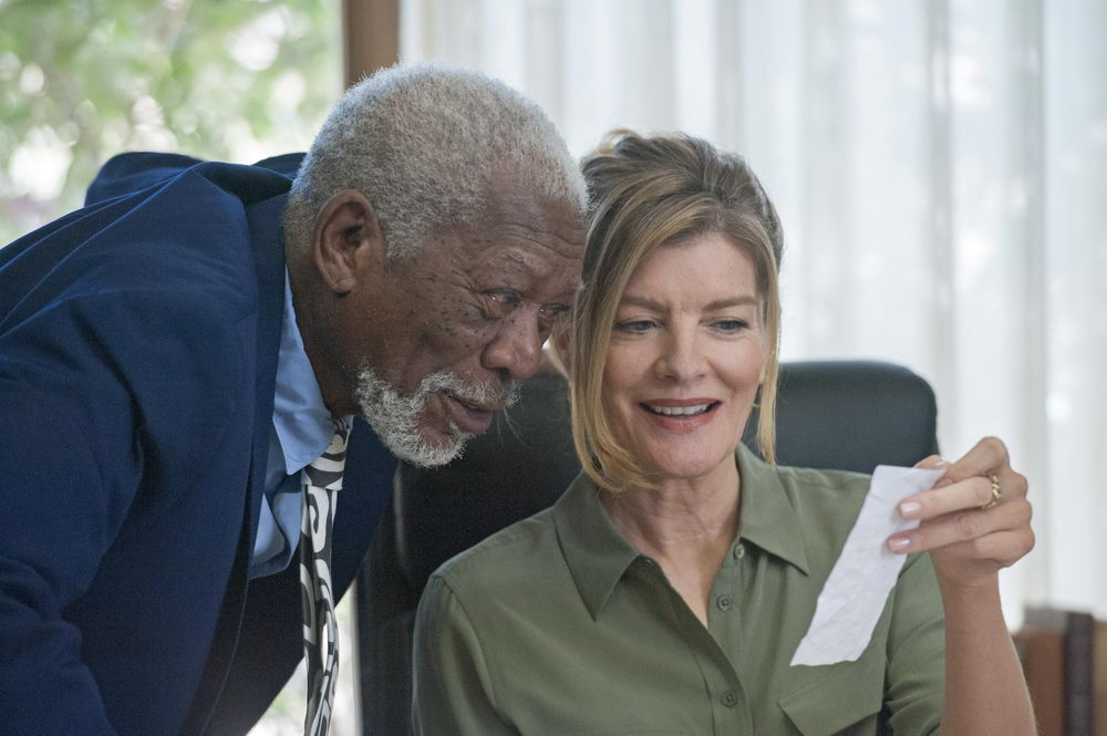 Morgan Freeman, Rene Russo