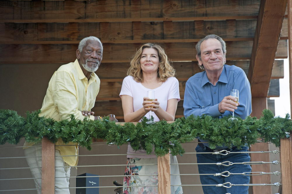 Morgan Freeman, Rene Russo, Tommy Lee Jones