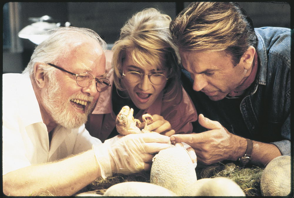 Richard Attenborough, Laura Dern, Sam Neill