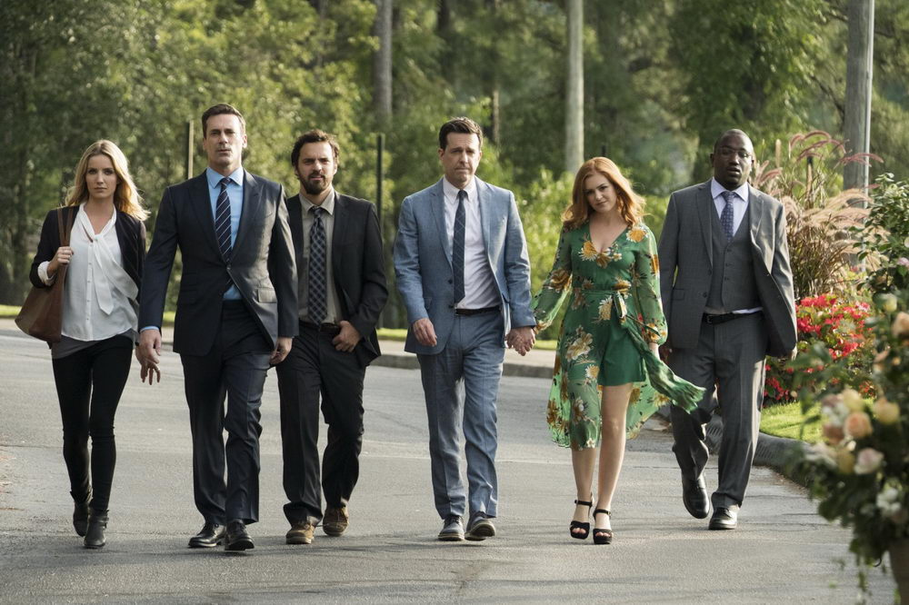 Annabelle Wallis, Jon Hamm, Jake Johnson, Ed Helms, Isla Fisher, Hannibal Buress