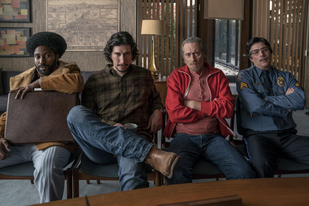 John David Washington, Adam Driver, Michael Buscemi, Ken Garito