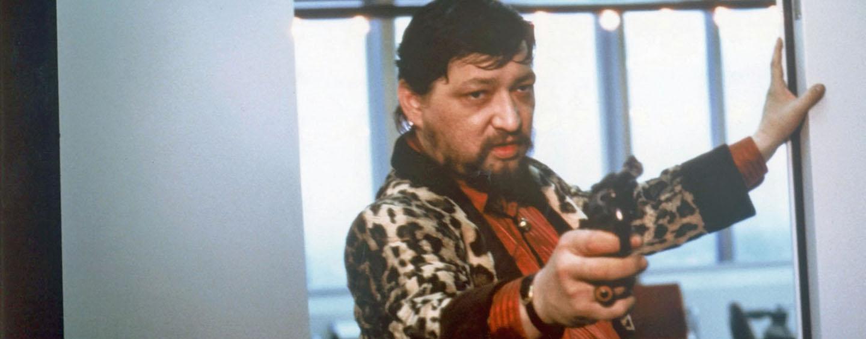 """Einer von Fassbinders letzten Auftritten: in """"Kamikaze"""" von Wolf Gremm ( © Filmverlag der Autoren) )"""