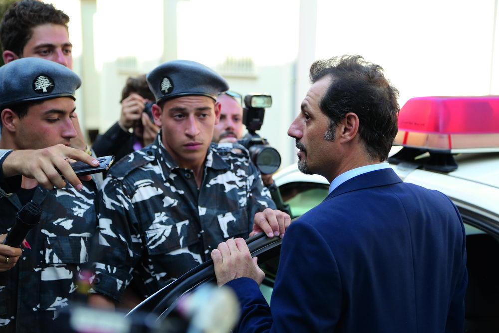 "Adel Karam als libanesischer Christ Toni in ""Der Affront"""