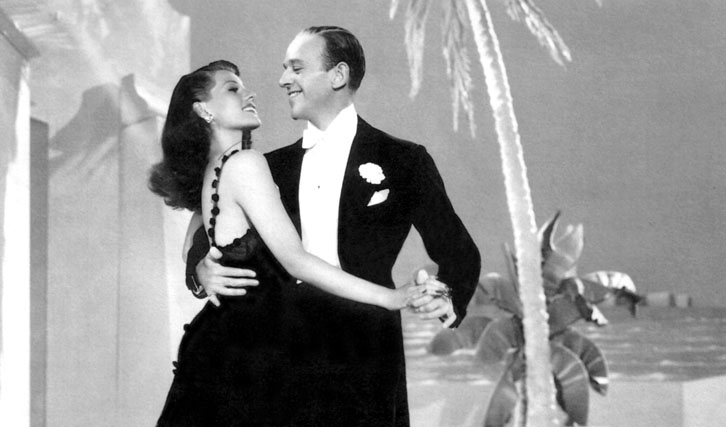 "Rita Hayworth mit Fred Astaire in ""You'll Never Get Rich"""