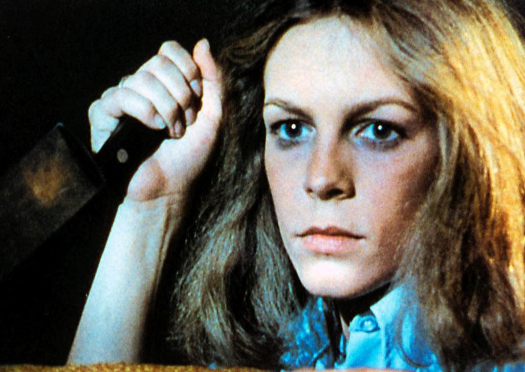 """Jamie Lee Curtis 1978 in """"Halloween"""""""
