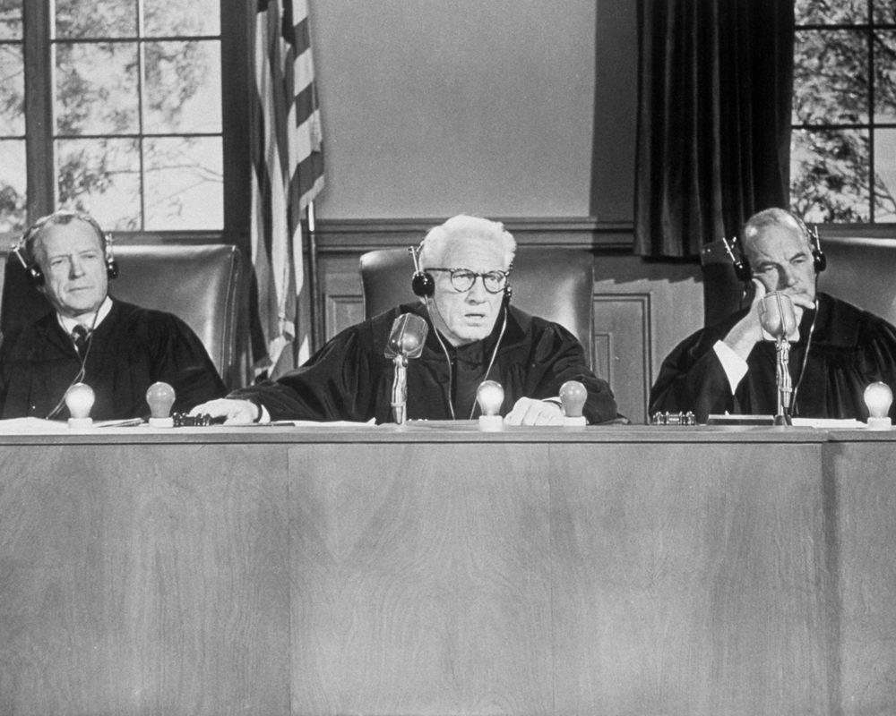"""Spencer Tracy als Richter in """"Urteil von Nürnberg"""""""