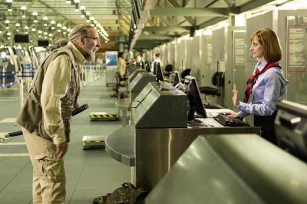 """Ein Mann beim Ausrasten: Nicolas Cage in """"Army of One"""""""