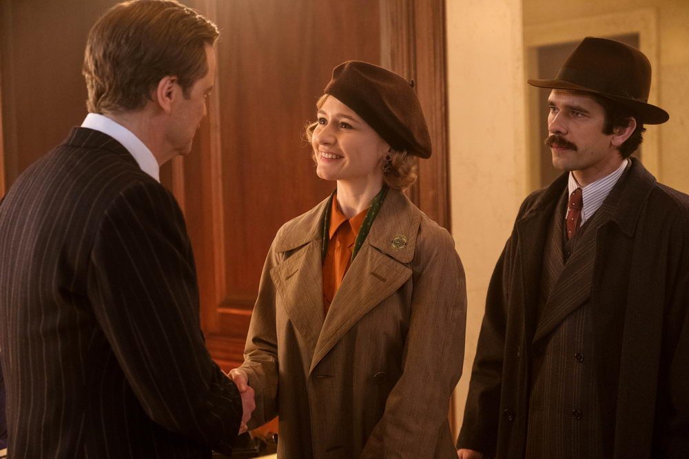 Colin Firth, Emily Mortimer, Ben Whishaw