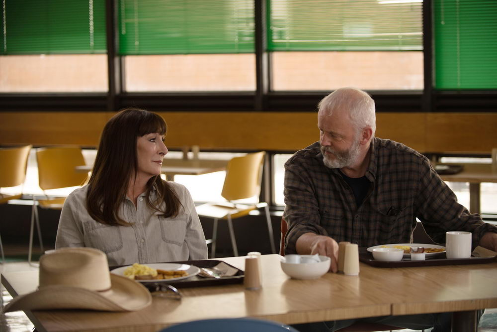 Anjelica Huston, David Morse