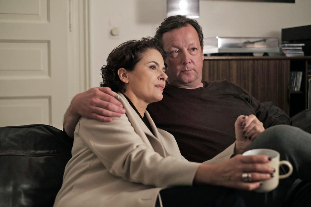 Schwierige Liebesbeziehung: Constanze Hermann (Barbara Auer) und Hanns von Meuffels (Matthias Brandt)