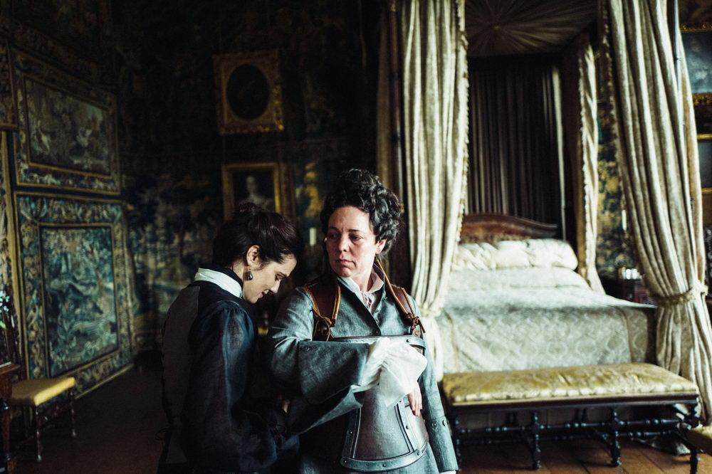 Enges Verhältnis: Die Herzogin von Marlborough (Rachel Weisz) und Queen Anne (Olivia Colman).