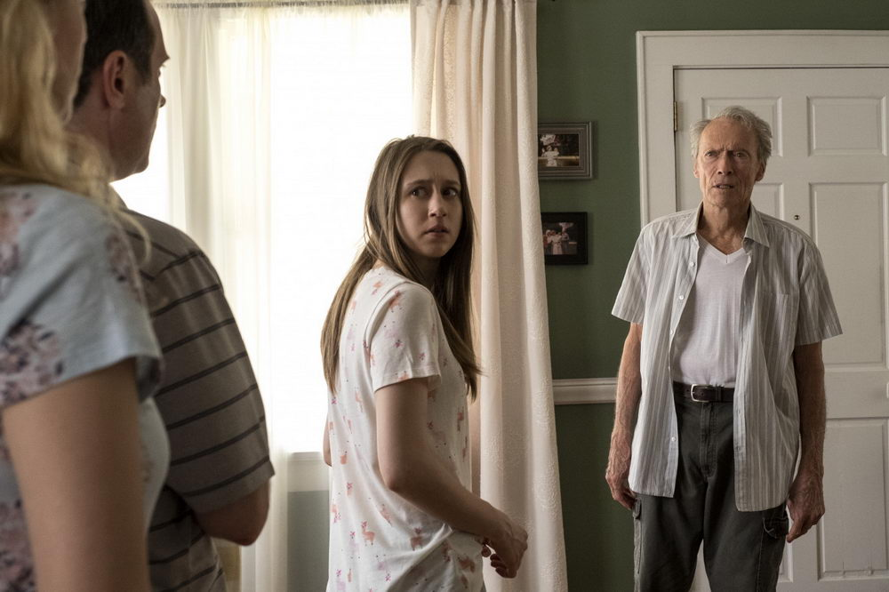 Taissa Farmiga, Clint Eastwood
