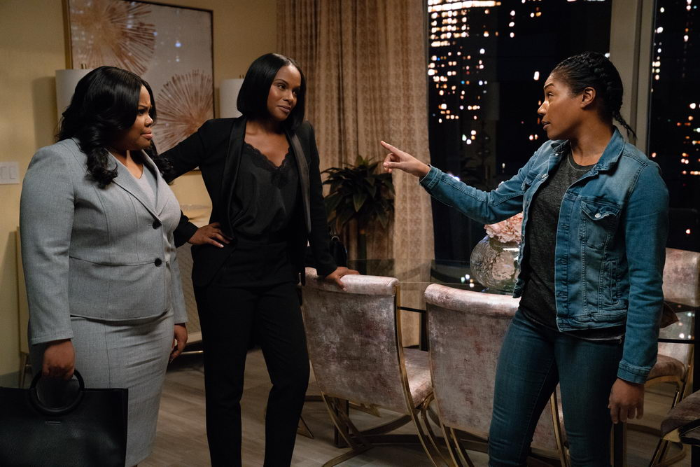 Amber Riley, Tika Sumpter, Tiffany Haddish