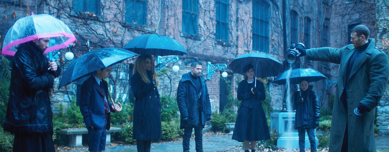 "Neuer Comic-Stoff: Die Serie ""The Umbrella Academy"""