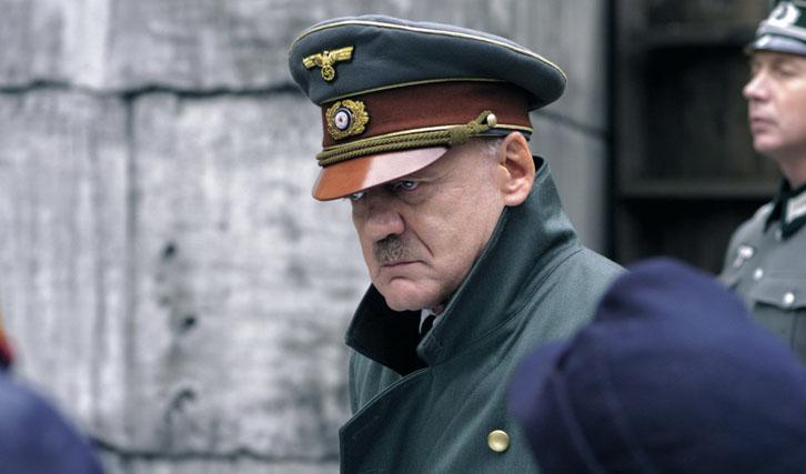 """Die schwere Last der Rolle Adolf Hitlers: Bruno Ganz in """"Der Untergang""""."""