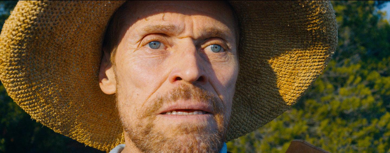 "Willem Dafoe als ""Van Gogh"""