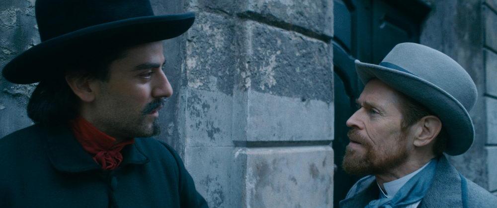 Künstlerfreundschaft: Paul Gauguin (Oscar Isaac) und Van Gogh (Willem Dafoe)