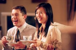 Lee Evans, Christy Chung