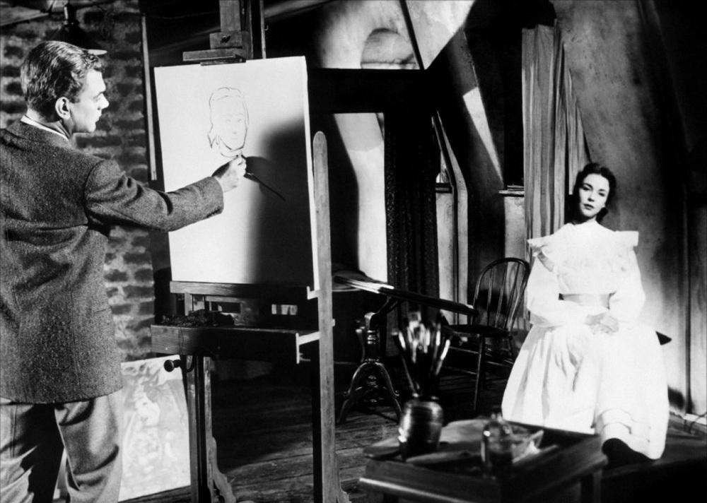 """Sinnbild der Sehnsucht: In """"Jenny"""" inspiriert Jennifer Jones einen Maler zu seinem größten Kunstwerk."""