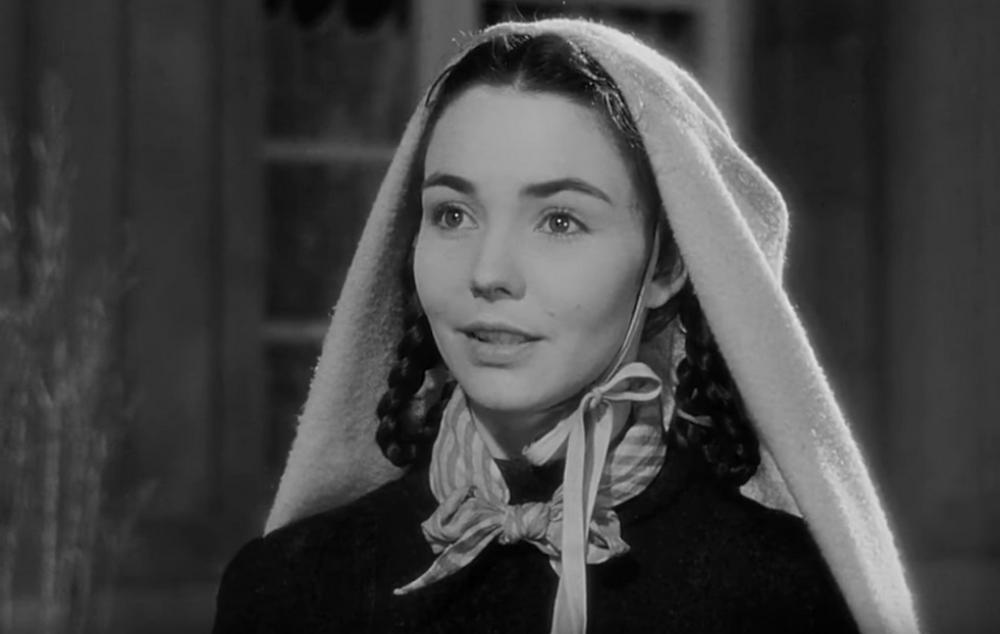 """Als Heilige Bernadette von Soubirous in """"Das Lied von Bernadette"""" begann 1943 die Star-Karriere von Jennifer Jones."""