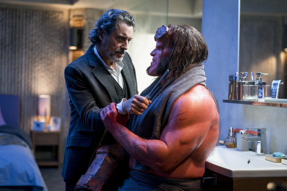 Ian McShane, David Harbour