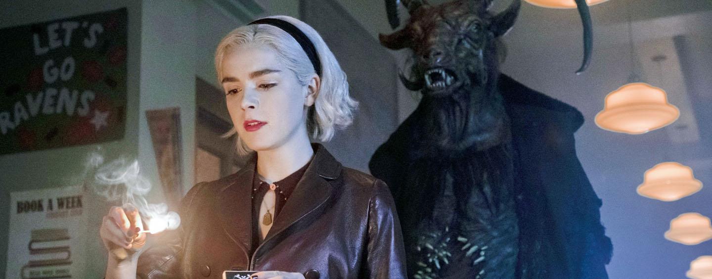 """Lässt sich weder vom Teufel noch von einem anderen Mann die Butter vom Brot nehmen: Junghexe Sabrina in """"Cilling Adventures of Sabrina"""