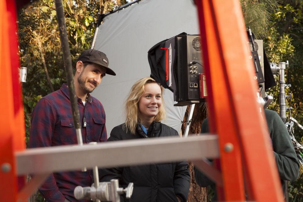 """Brie Larson am Set ihres Langfilmdebüts """"Unicorn Store"""""""