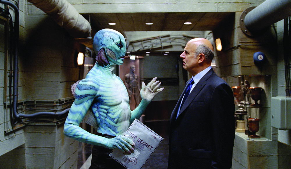 Doug Jones, Jeffrey Tambor