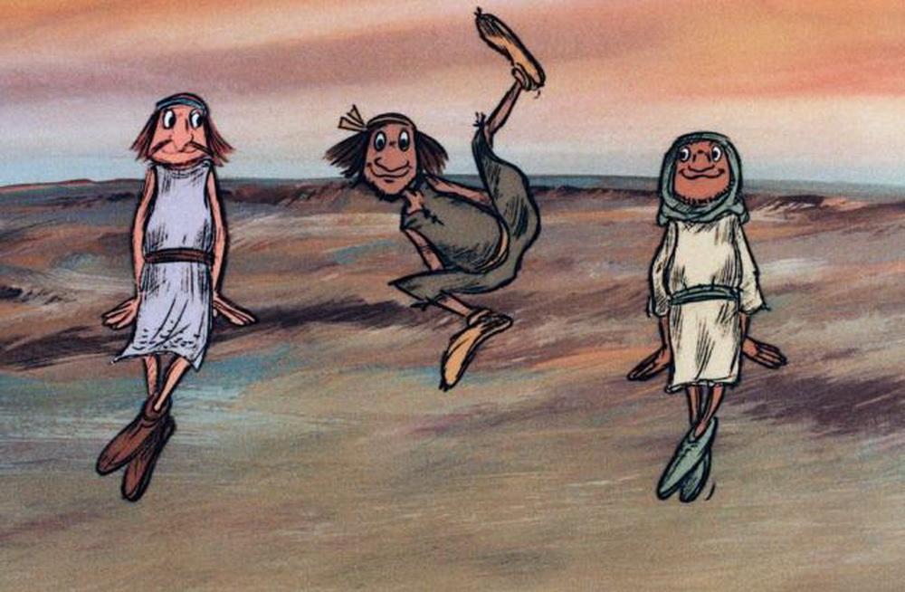 """Curt Lindas Version der Bibel-Geschichte von Joseph und seinen Brüdern: """"Shalom Pharao"""""""