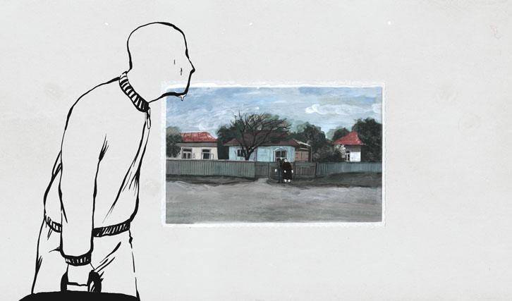 """Auch der Animationsfilm """"Crulic"""" von Anca Damian erzählt vom Schicksal eines Menschen unter den Rädern der Bürokratie."""