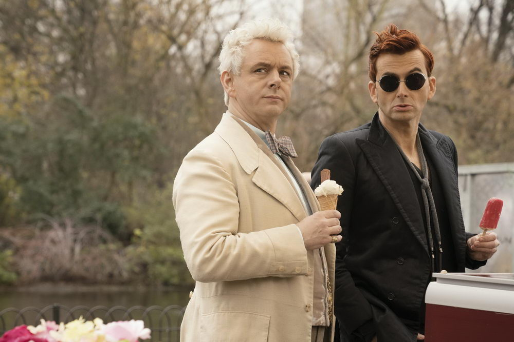 Michael Sheen, David Tennant