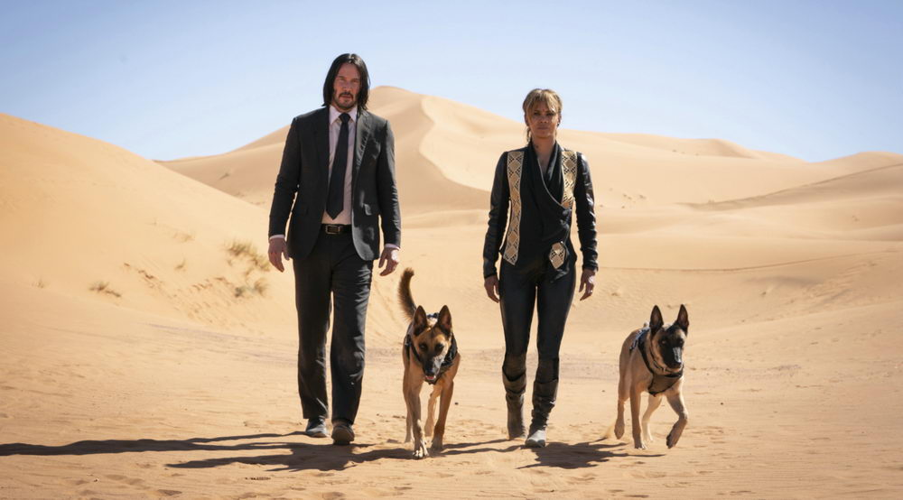 """Ein herz für Hunde: Keanu Reeves als """"John Wick"""" (Concorde)"""