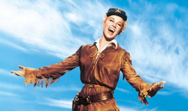 """In """"Schwere Colts in zarter Hand"""" erschien Doris Day als singende Calamity Jane."""