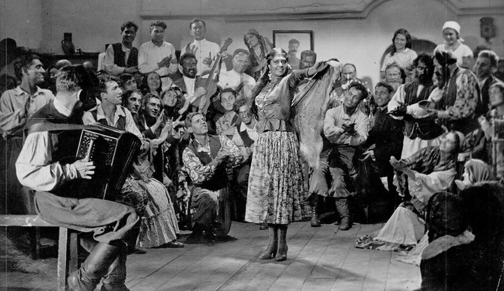 """""""Das letzte Zigeunerlager"""" (1935)"""