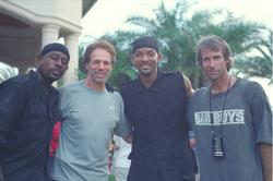 Martin Lawrence, Will Smith, Jerry Bruckheimer, Michael Bay