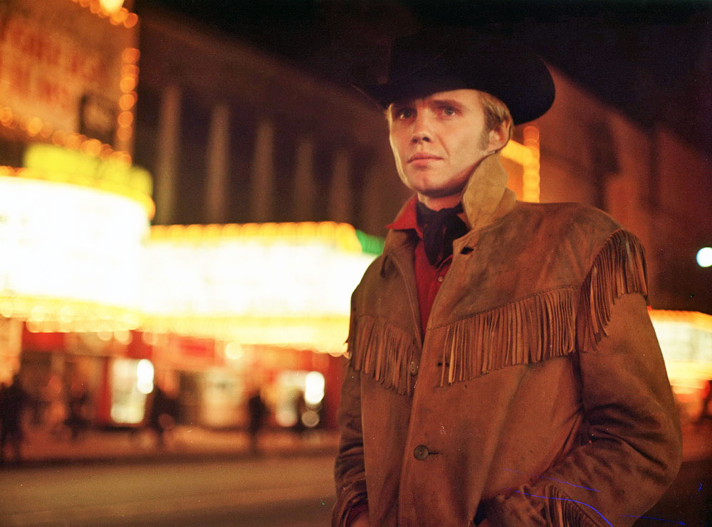 "Jon Voight in ""Asphalt-Cowboy"""